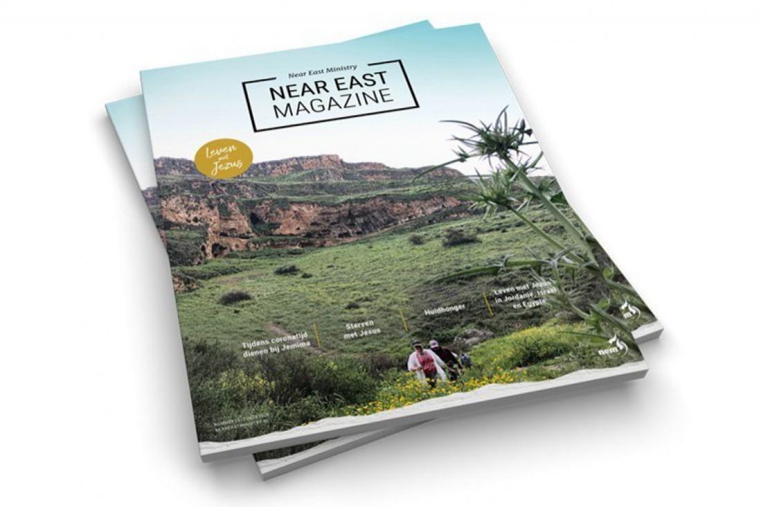 Near East Magazine met thema 'Leven met Jezus'