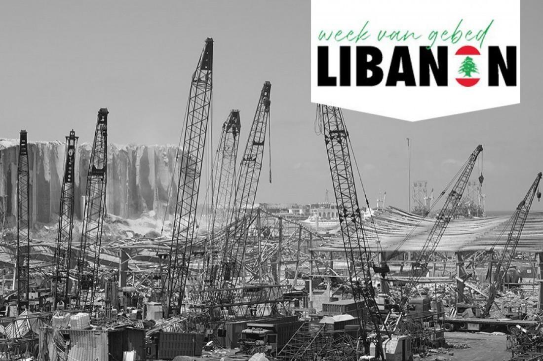 Bidden voor Libanon