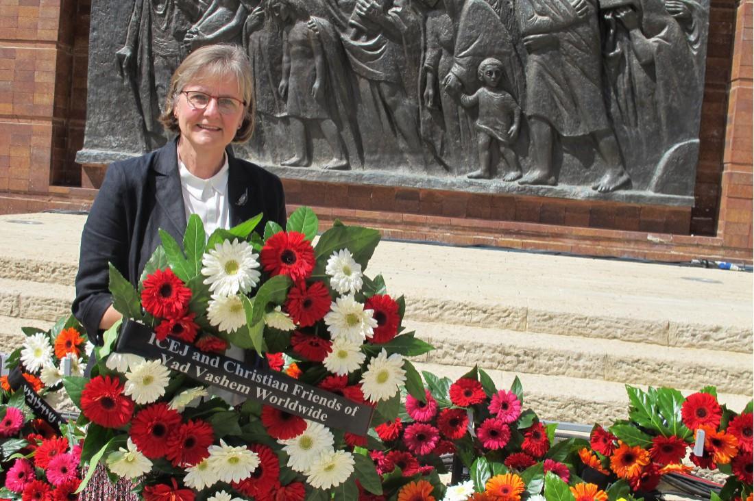 Holocaust herdenkingsceremonie in Yad Vashem