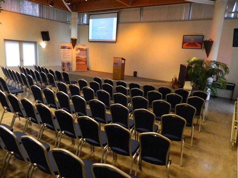 menorah groepsaccomodatie dichtbij podium
