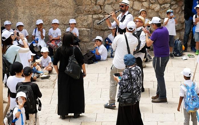 Feest in Jeruzalem