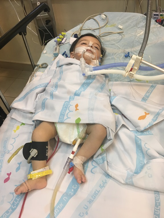 arabisch kindje dat wordt begeleid door centrum in Israel